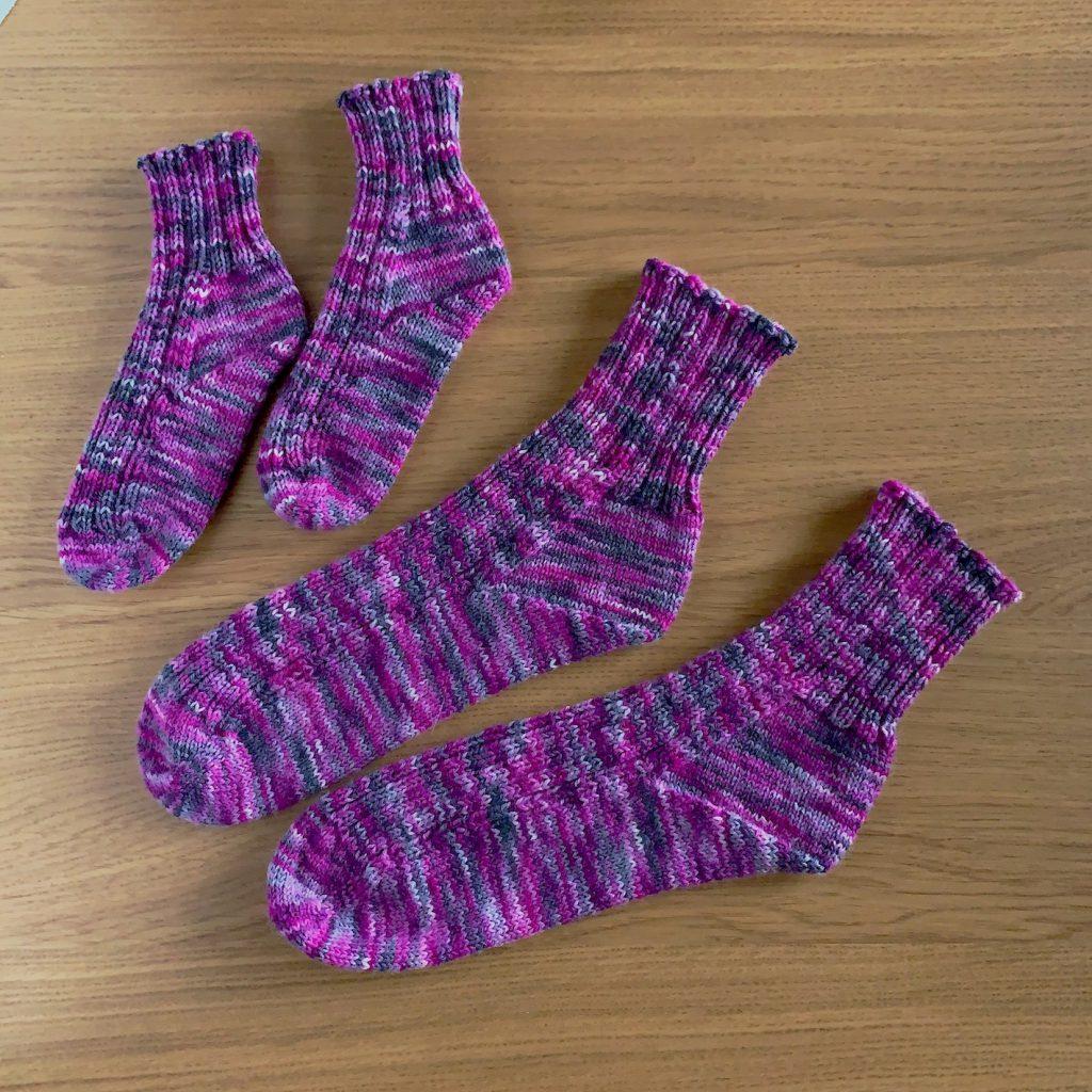 No Wrap Sock〜引き返し編みなしの靴下〜