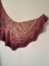 Skystorm shawl