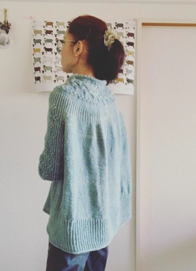 Bright Sweater着画(その1)