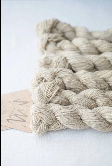 Moeke Yarn Elena Single Natural