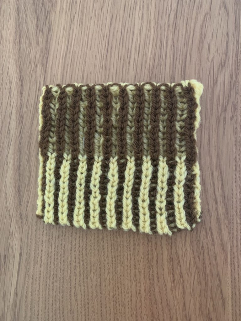 初めてのブリオッシュ編み
