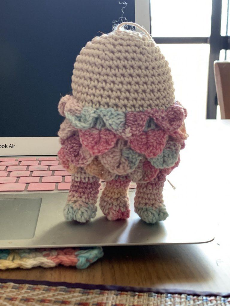 「編みアマビエ」様