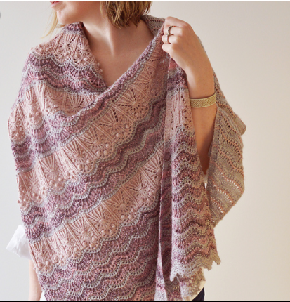 Bloom Your Heart Out Shawl