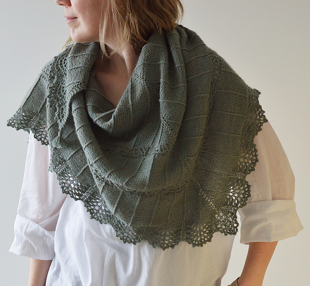 Migla Shawl by Inese Sang