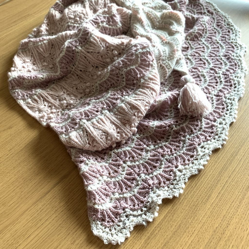 Bloom Your Heart Out Shawl❤️