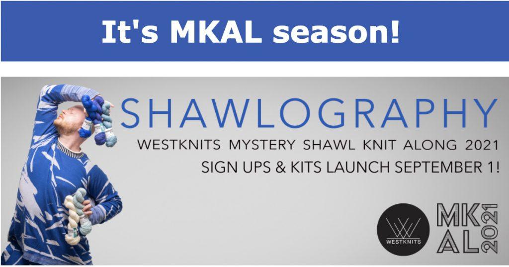 Westknits Mystery Shawl Knit Along2021
